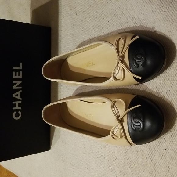 Chanel classic balet flats